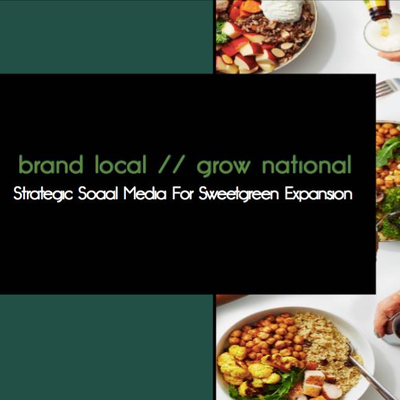 Strategic Branding: Sweetgreen