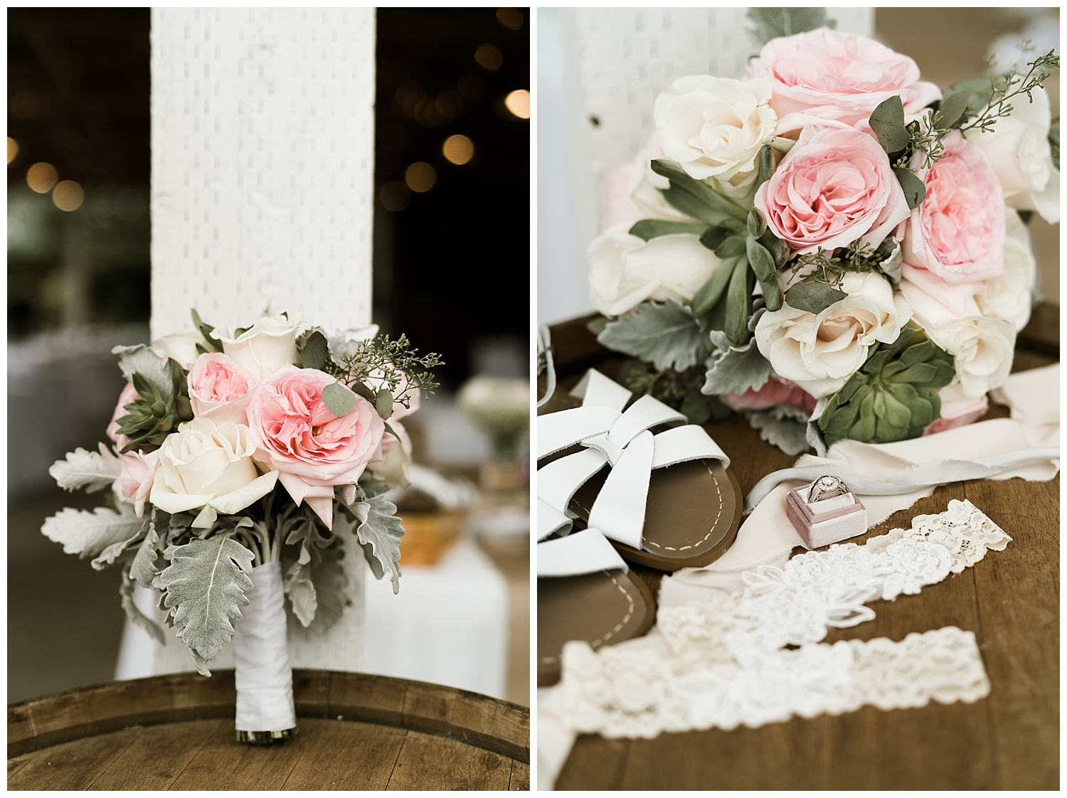 Rustic Chic Wedding | Bridal details | PNW wedding photographer