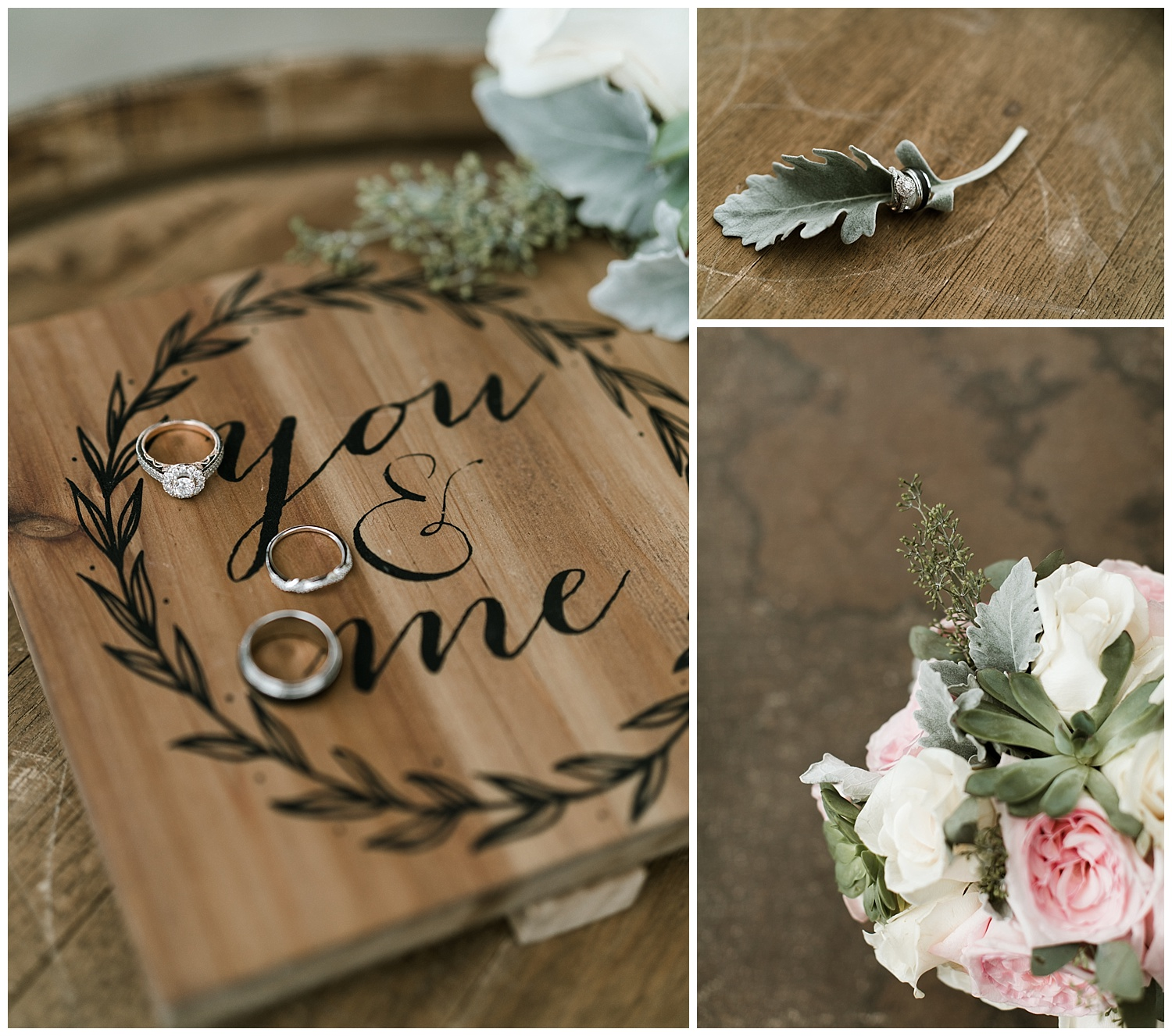 Rustic Chic Wedding | ring photo inspo | PNW wedding photographer