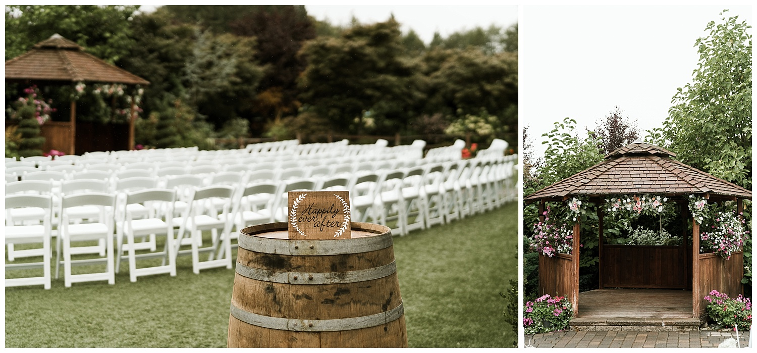 Rustic Chic Wedding | ceremony details | PNW wedding photographer