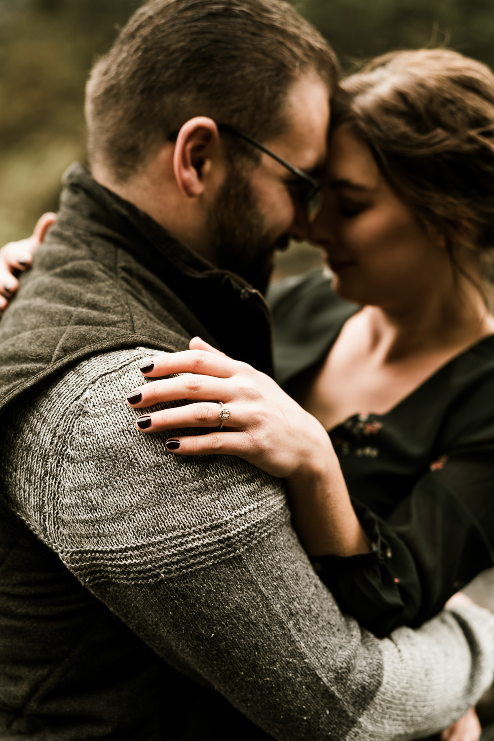 A Picturesque PNW Engagement Session | Snoqualmie Falls | Seattle Wedding photographer-16.jpg
