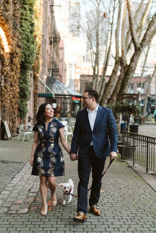 Classy metropolitan engagement session - Seattle pioneer square - Wedding Photography-1.jpg