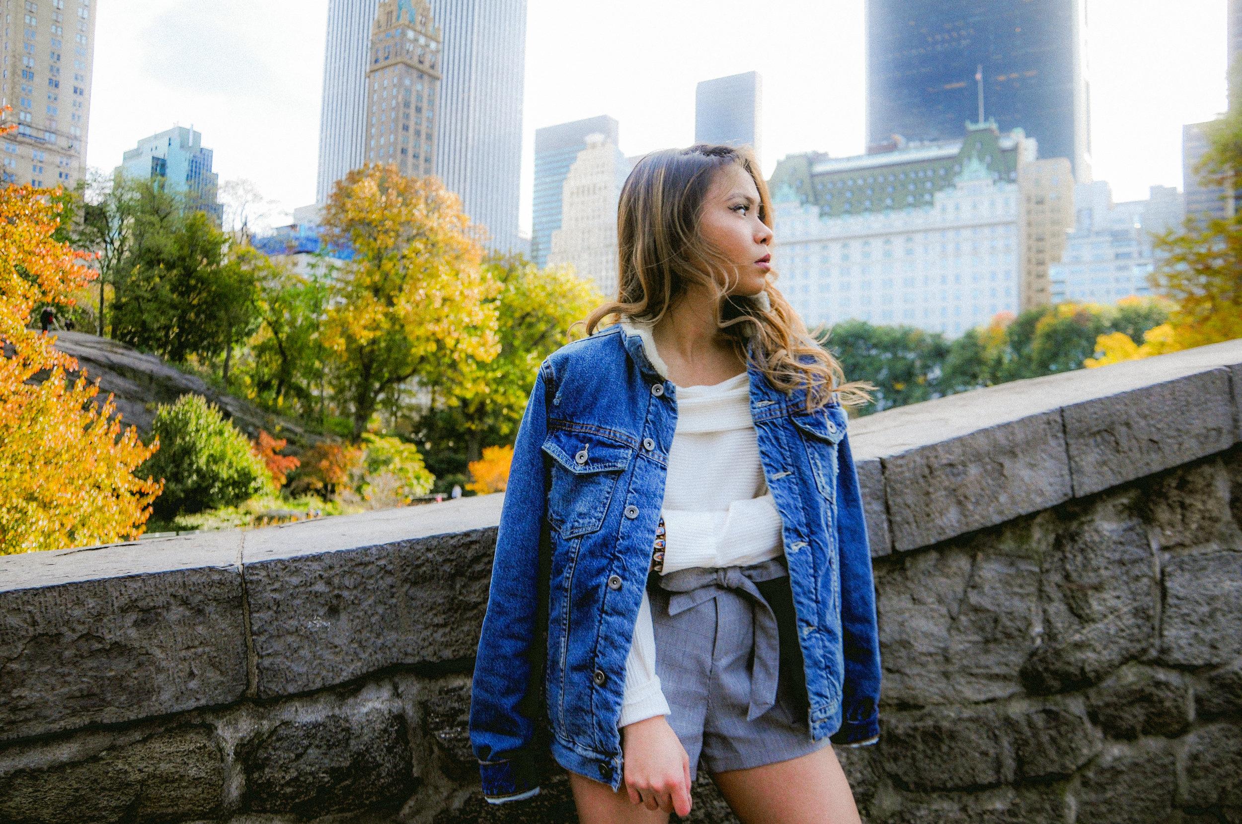 - Jacket: Zara Men'sTop: Zara TRF collectionShorts: Zara TRF collection