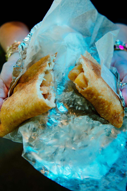 Delicious Apple Jack fair hand pies