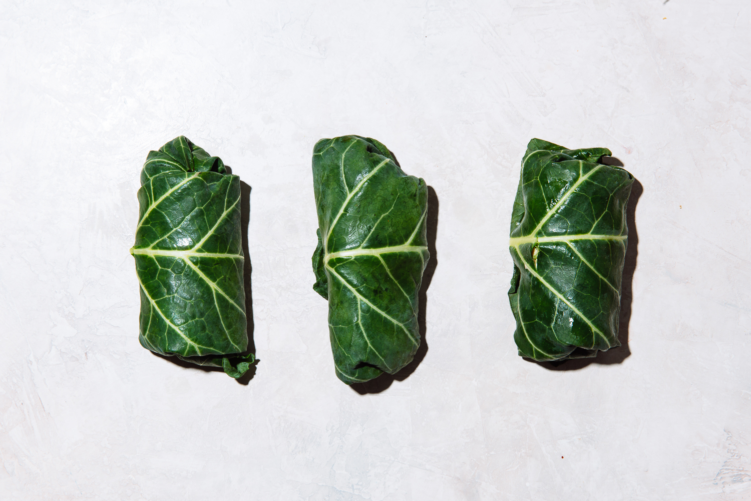 Whole 30 and Low-FODMAP collard wraps