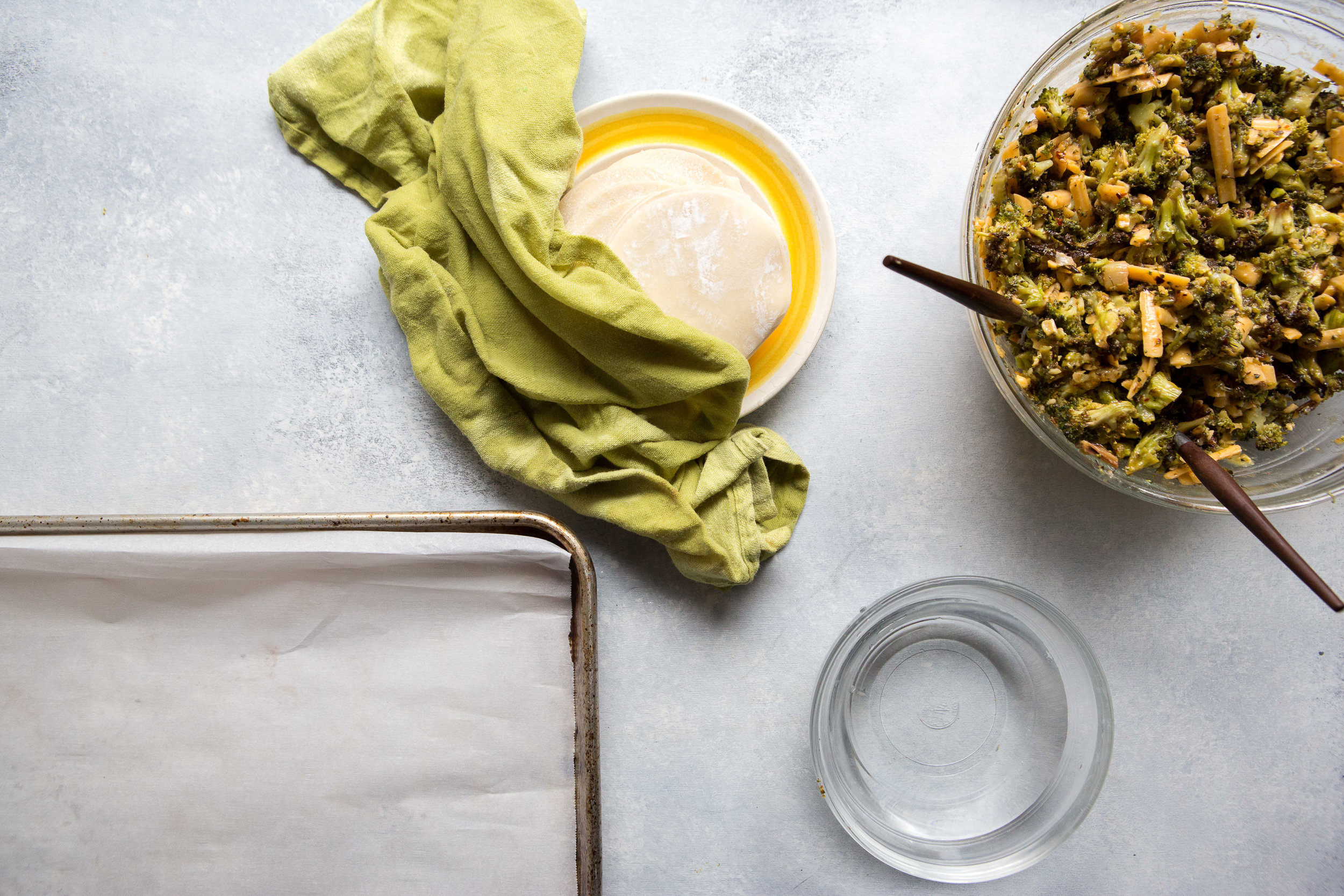 Snow Day Recipe for Broccoli & Cheese Dumplings