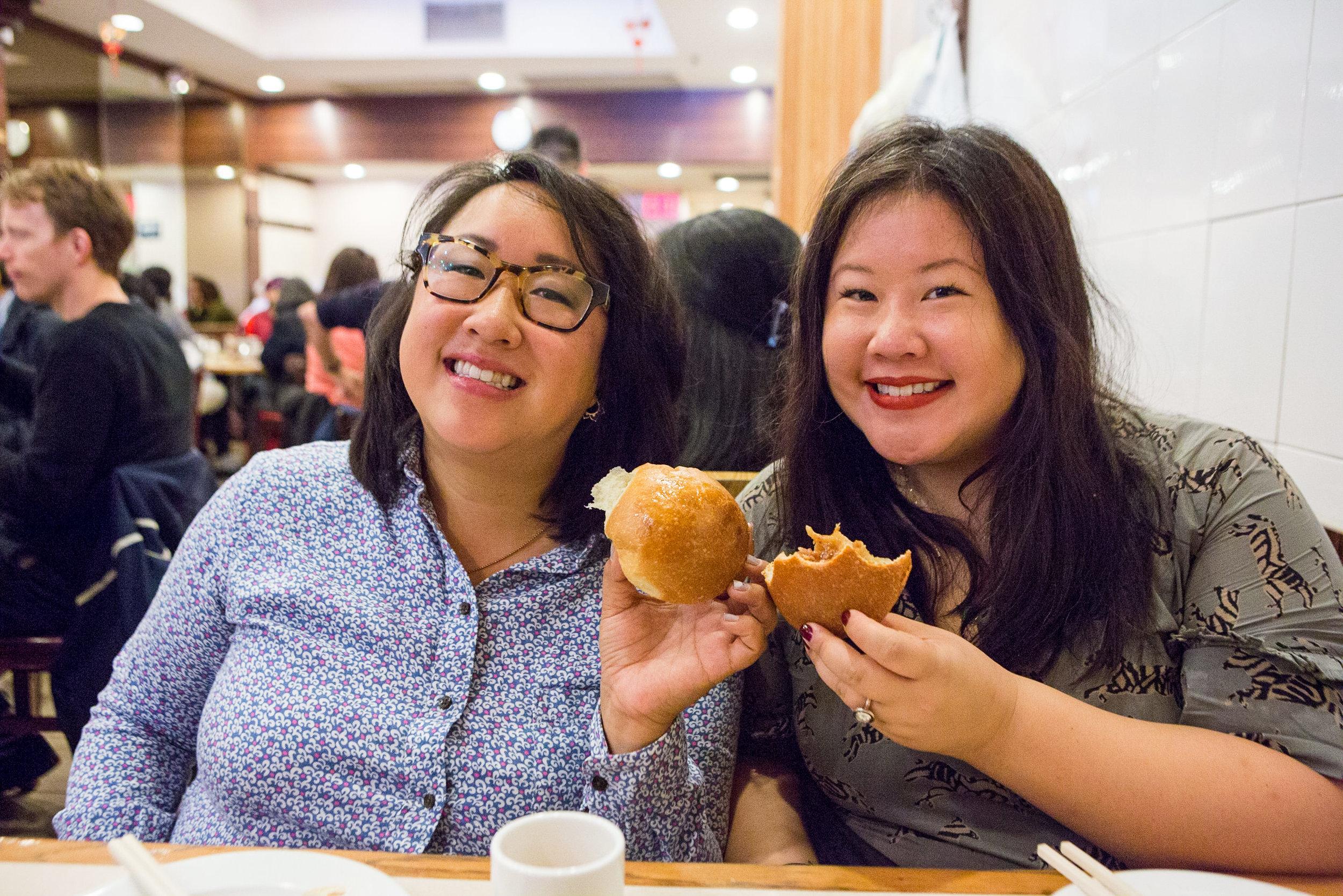 Las Hermanas Wang, the creators of Manhattan's Chinatown Map
