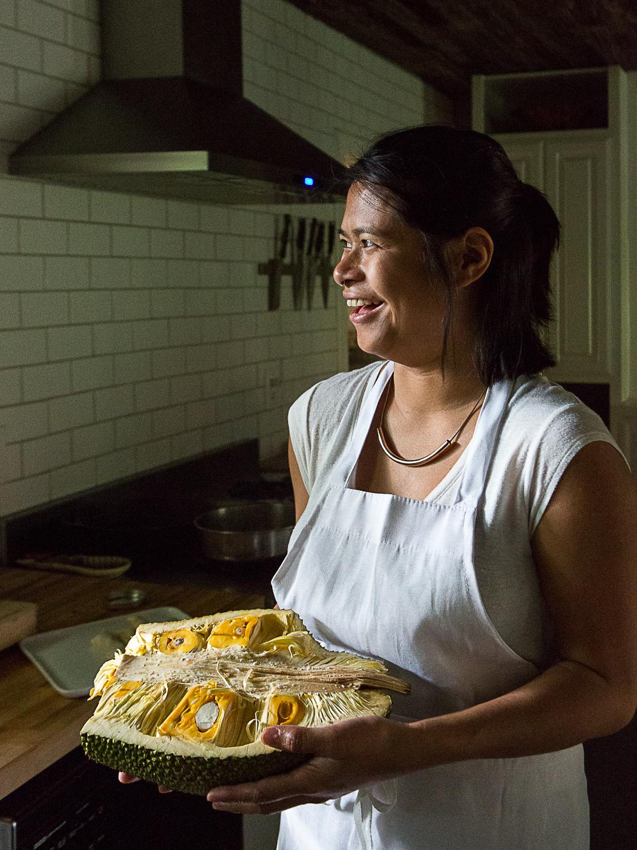 Monique Santua and Jackfruit, Filipino Dumplings