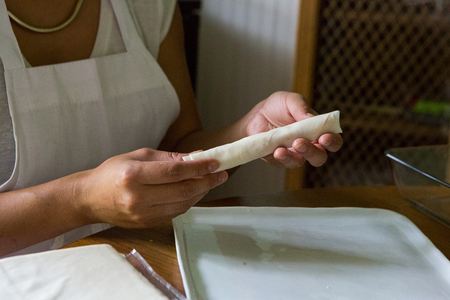 How to Roll Lumpia