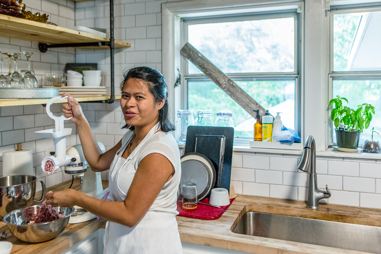 Photos of Monique Santua by  Mackenzie Smith Kelley