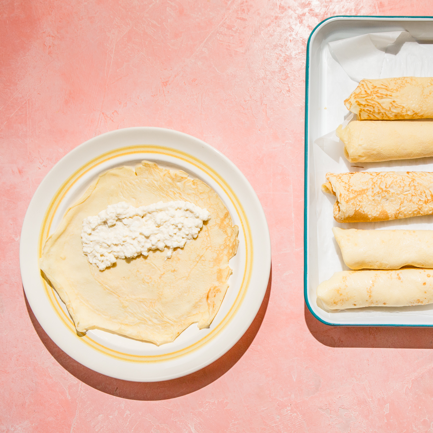 How to Roll a Cheese Blintz