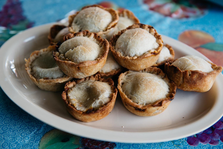 Belizean Meat Pies at Calehan's