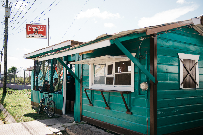 Calehan's Fast Food and Meat Pies in Belmopan, Belize