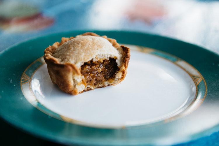 Belizean Meat Pies for The World in a Pocket, Photo by Lauren V. Allen