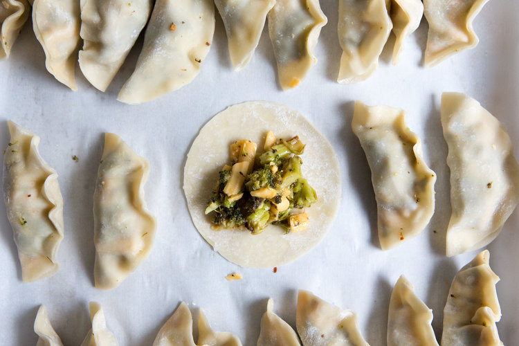 The World In A Pocket's Best of 2018, Broccoli and Cheddar Dumplings, Photo by mackenzie smith kelley