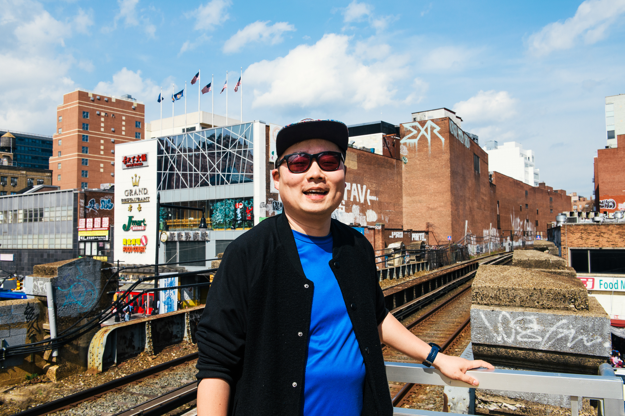 Eddie Mao, the owner of Mao's Bao, shows us around his home neighborhood of Flushing, Queens.