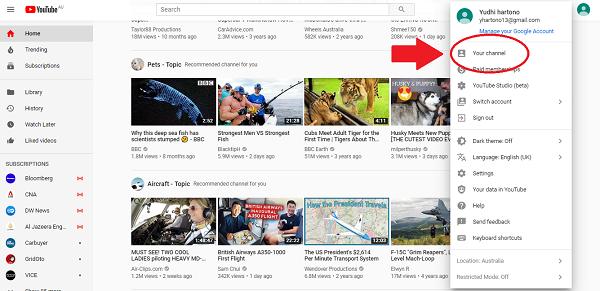 Bagaimana Memulai Channel Youtube Dari Nol Aksato