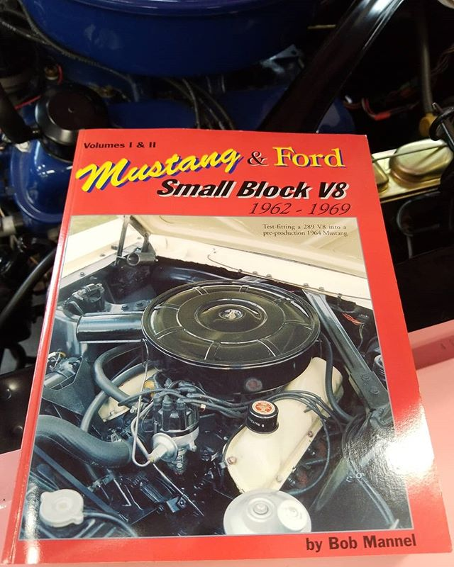 Now in stock! The complete restoration guide for the small block V8 from 1962-1969 with detailed pictures. #mustang #mustangwheels #mustangupholstery #mustangparts #shelby #gt350 #mustangcountryinternational