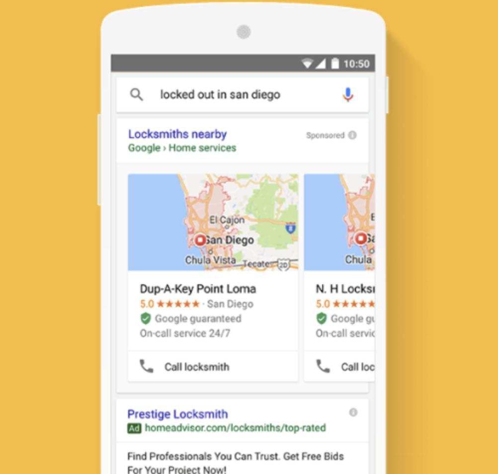 Google Local Services Ad