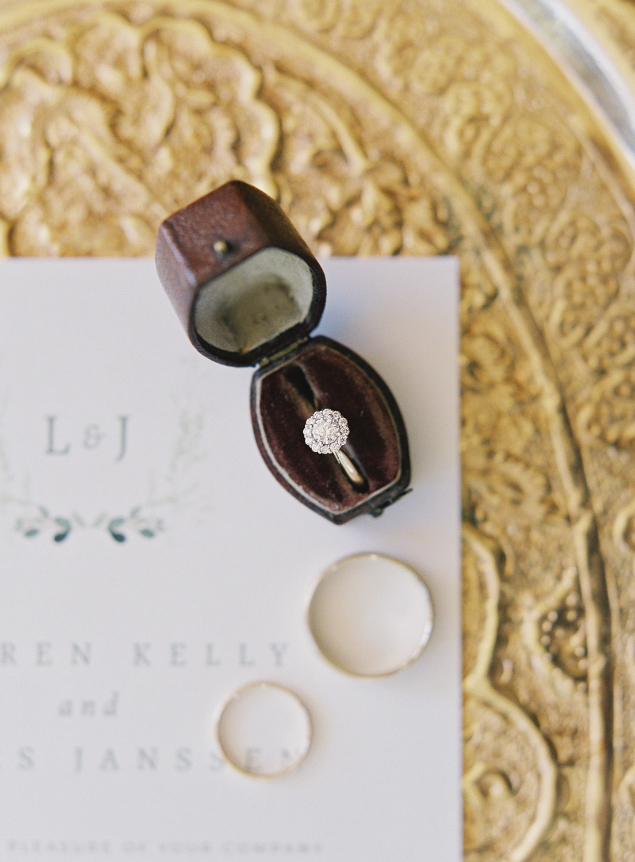 Halifax Wedding Photographer, Image of a Diamond Engagement Ring, Captured on Film, Fuji400h, Nova Scotia Wedding Photographer, Jacqueline Anne Photography
