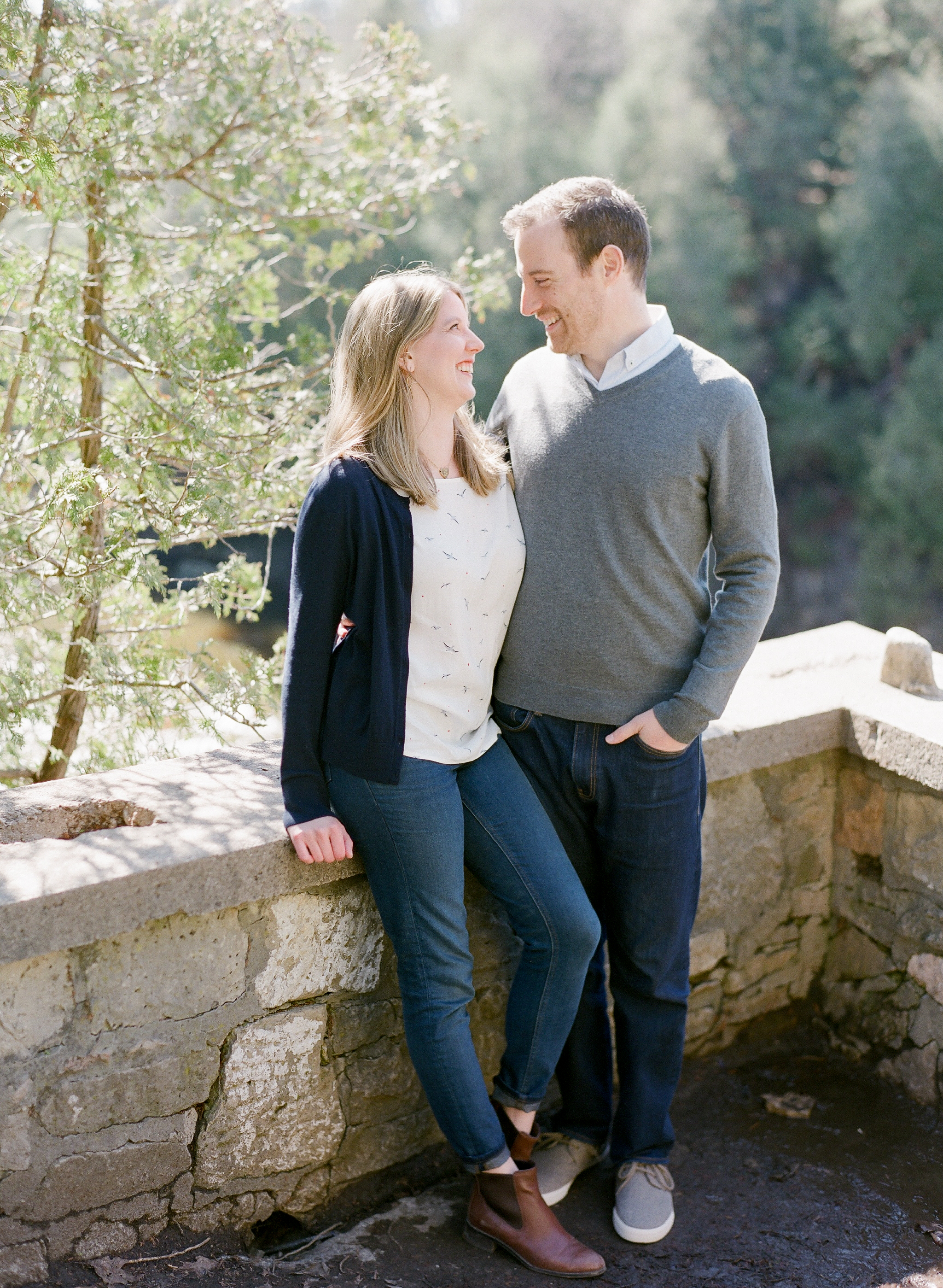 An Elora Engagement Session at Lover's Leap