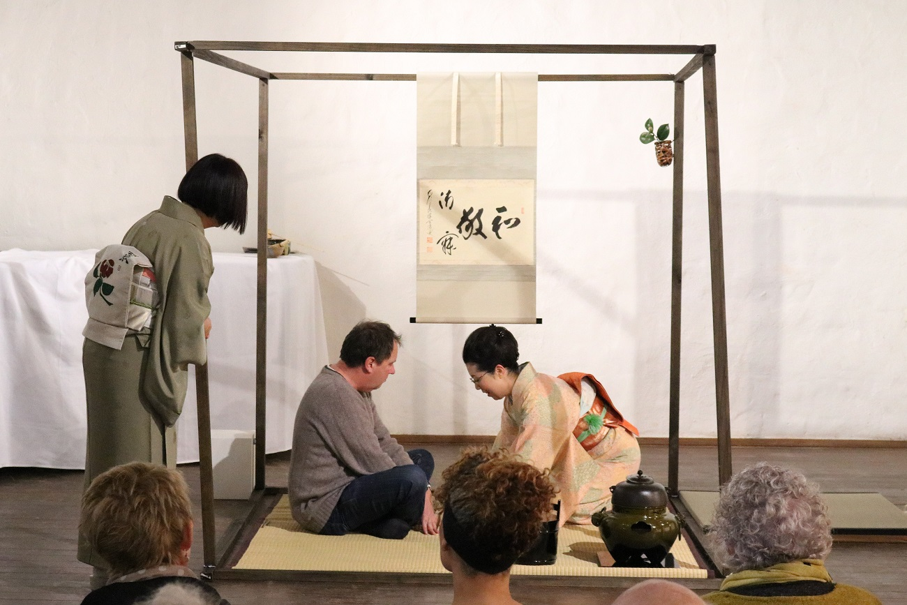 Special Presentation of the traditional Japanese Tea Ceremony by Yuko Jensen, Skepsi @ Montsalvat, August 2017