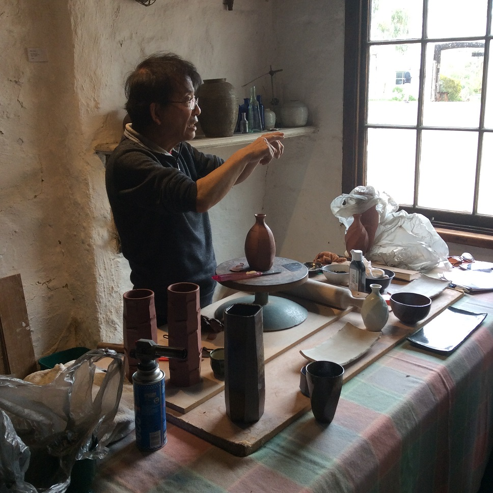Terunobu Hirata: Foundation Techniques in Ceramics Workshop, Skepsi @ Montsalvat, May 2016
