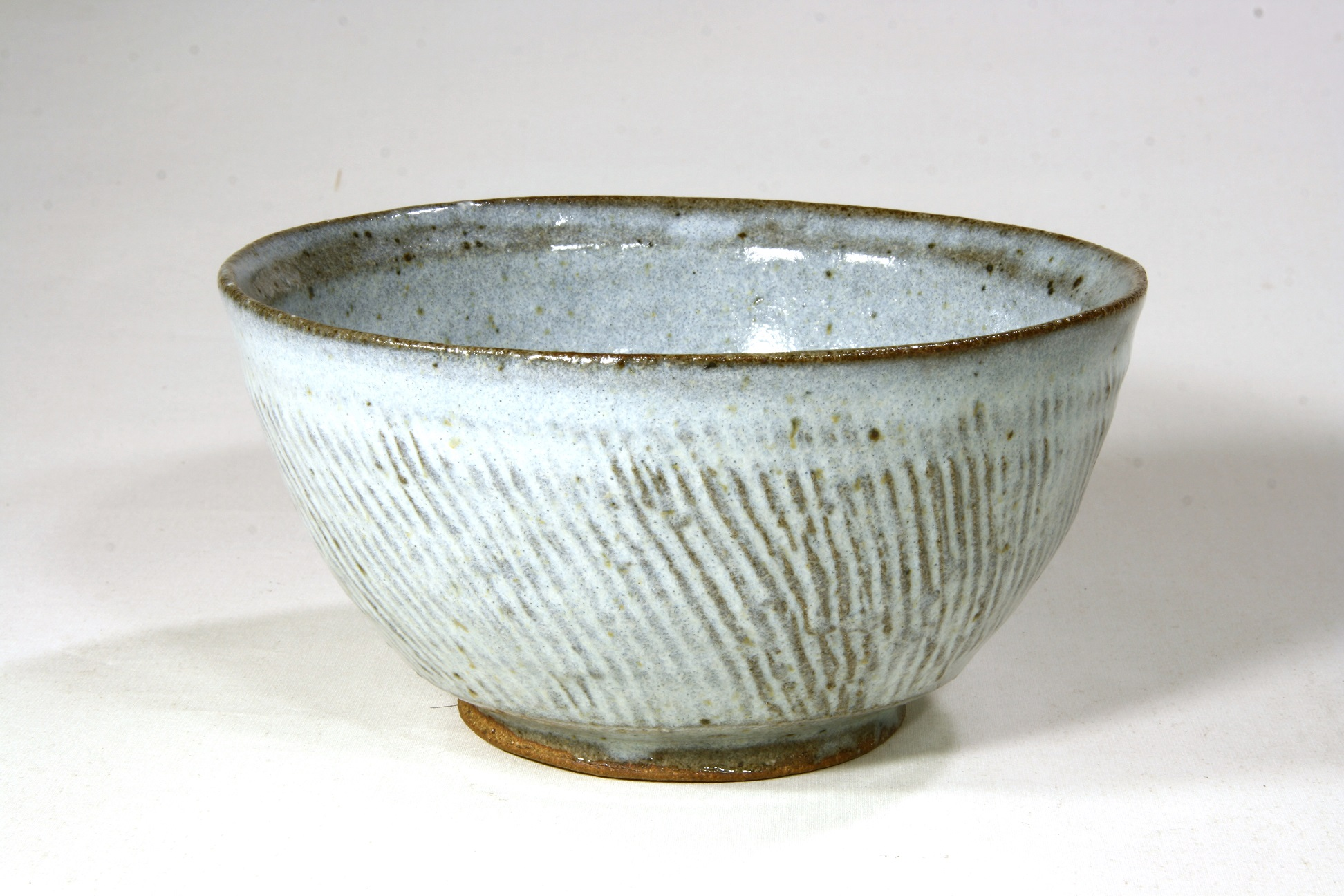 Owen Rye, Bowl, stoneware, ash glaze, dia 18cm.JPG