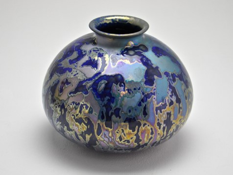45. Dappled Light, lustre glazed ceramic work H19 x W21cm, $990.jpg