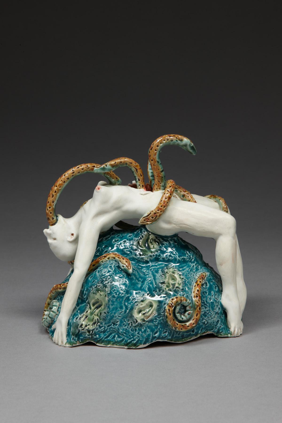 Surrender, 2009, stoneware, glaze, H 17cm x W 18cm.jpg