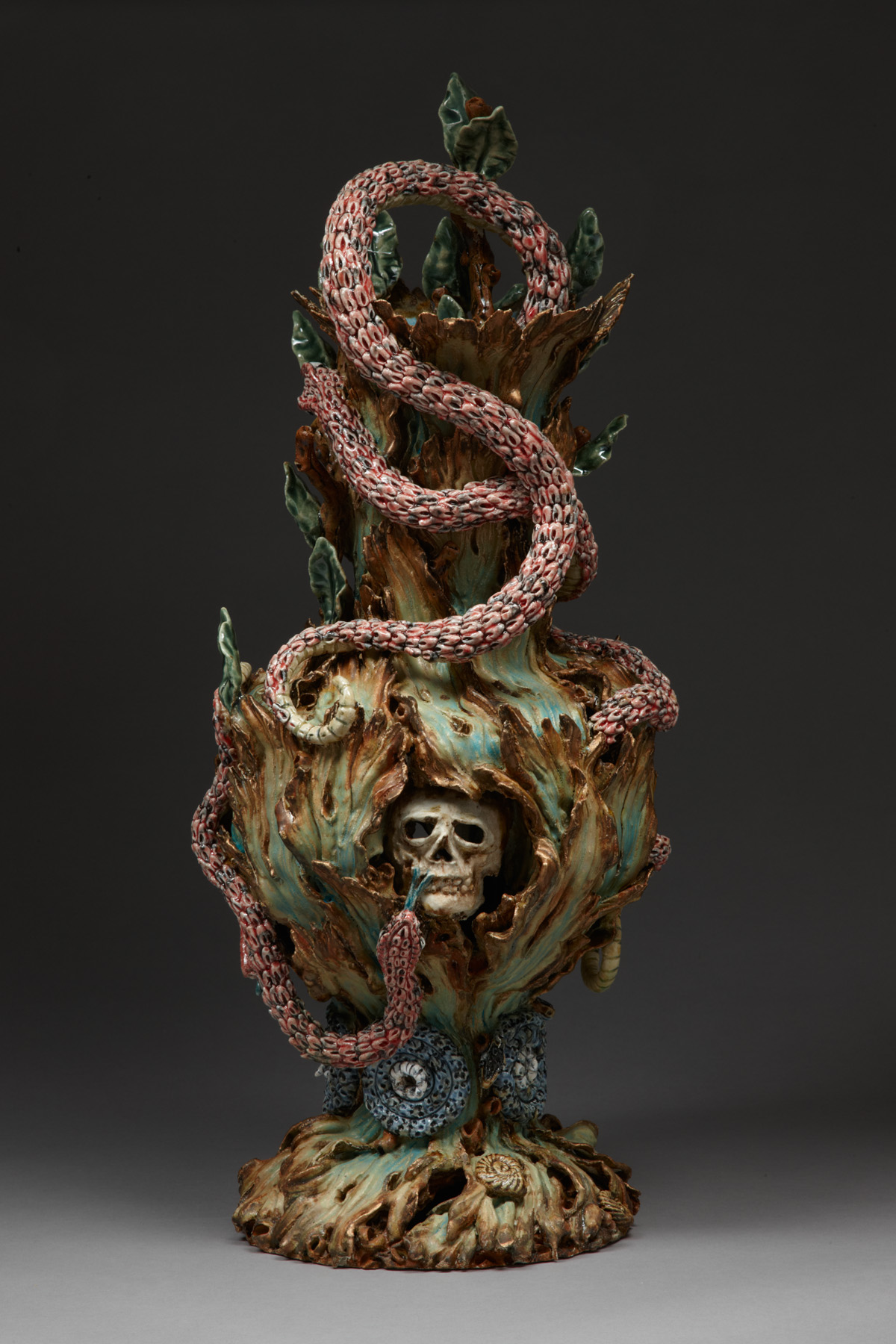 The Guardians, 2009, stoneware, glaze, H 60cm x W 25cm.jpg