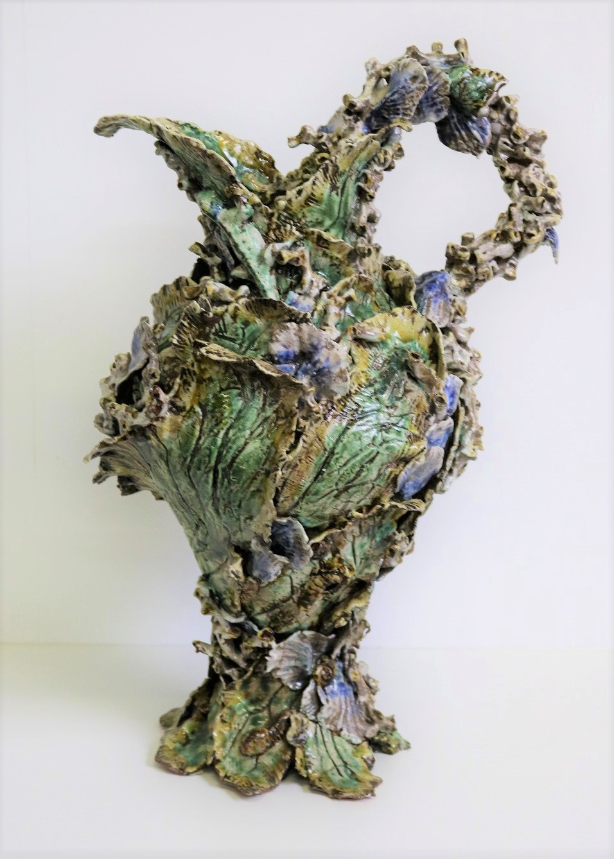 Proto Ewer, 1999, stoneware, slip, glaze, H51 x W28 x D25cm AVAILABLE