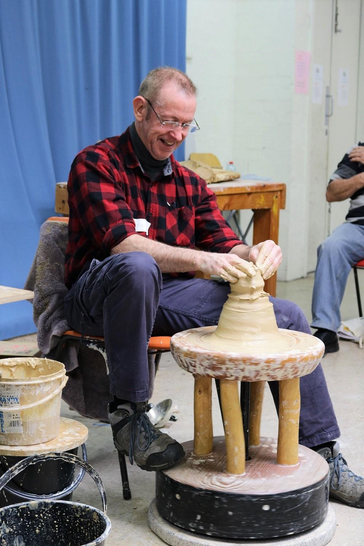 Kirk Winter, Onggi Wheel Workshop, Skepsi @ Malvern July 2018
