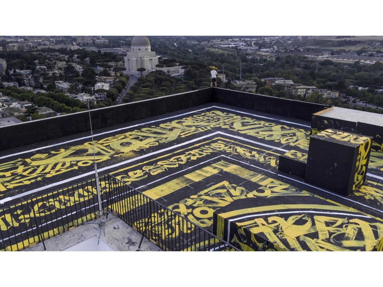 FENDI rooftop at Palazzo Della Civiltà Italian