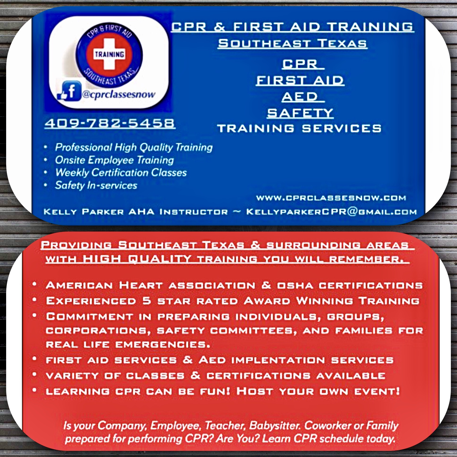 Is your workplace prepared for a cardiac emergency? Are you in need of an AED in-service? - We can prepare you and your workplace at your convenience.
