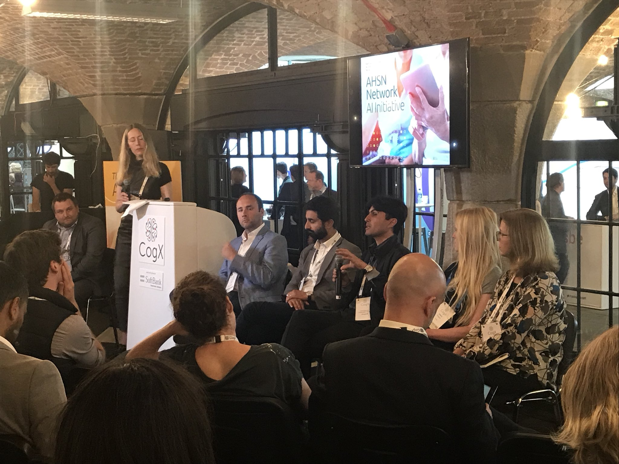 MOVING THE HYPE OF AI TO REAL WORLD IMPACT IN HEALTH    CogX AI Festival 10 & 11 June 2018       Chair:  Tina Woods , CEO, Collier Health  Panellists:   Dr Hugh Harvey  (Clinical Director, Kheiron Medical; Topol Review Member and Co-Chair, Expert Advisory Panel – Artificial Intelligence)   Dr Payam Barnaghi  (Co-Principal Investigator, Technology Integrated Health Management (TIHM), IoT Testbed Project, KSS AHSN)   Harpreet Sood , Associate Chief Clinical Information Officer, NHS England   Melissa Ream , Adviser, KSS Academic Health Science Network, National AHSN AI Initiative   Laura Douglas , Co-founder & CEO, Levels  Click   here   for article.