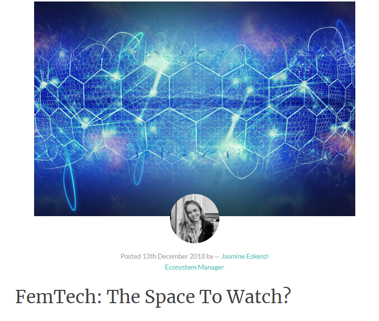 FemTech is predicted to be the next big disruptor in the health tech industry with over $1 billion of funding invested in the past three years and a market that is predicted to grow to $50 billion by 2025. So what is this evolving market that is growing exponentially and empowering women across the globe in the process? Read more in the Disruption article  here .