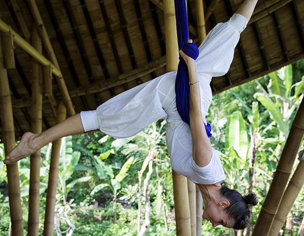 Anti Gravity Yoga - Four Seasons Bali Sayan