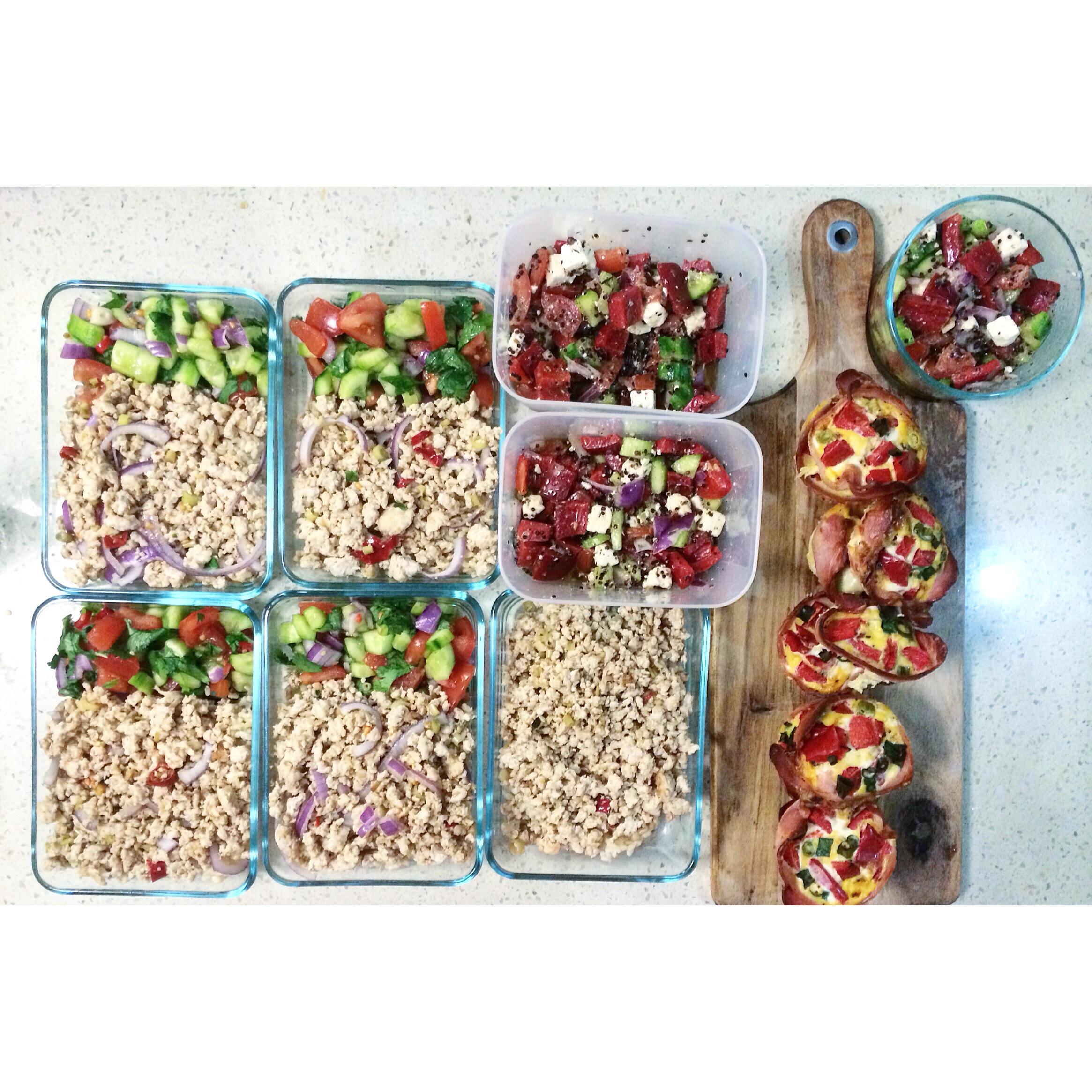 Healthy Eating - Meal Prep