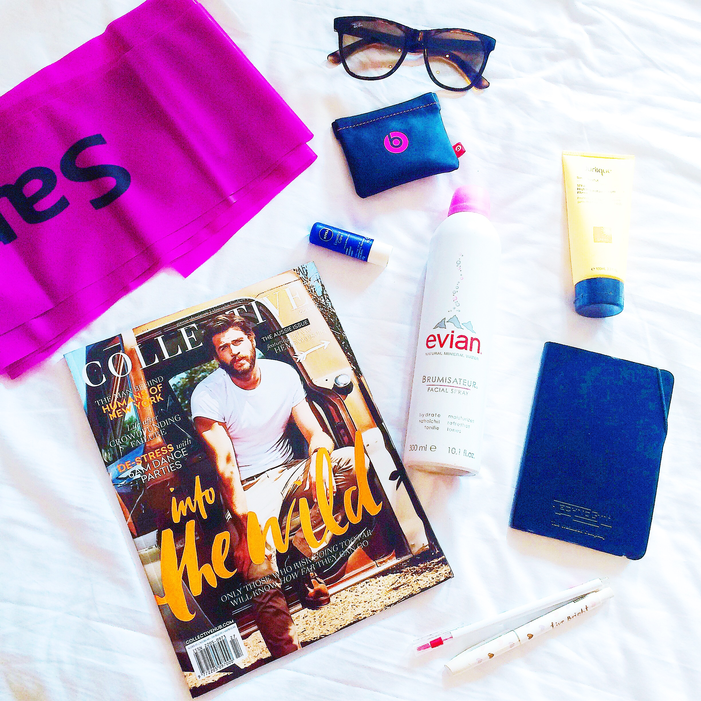 Travel Fit Flat Lay