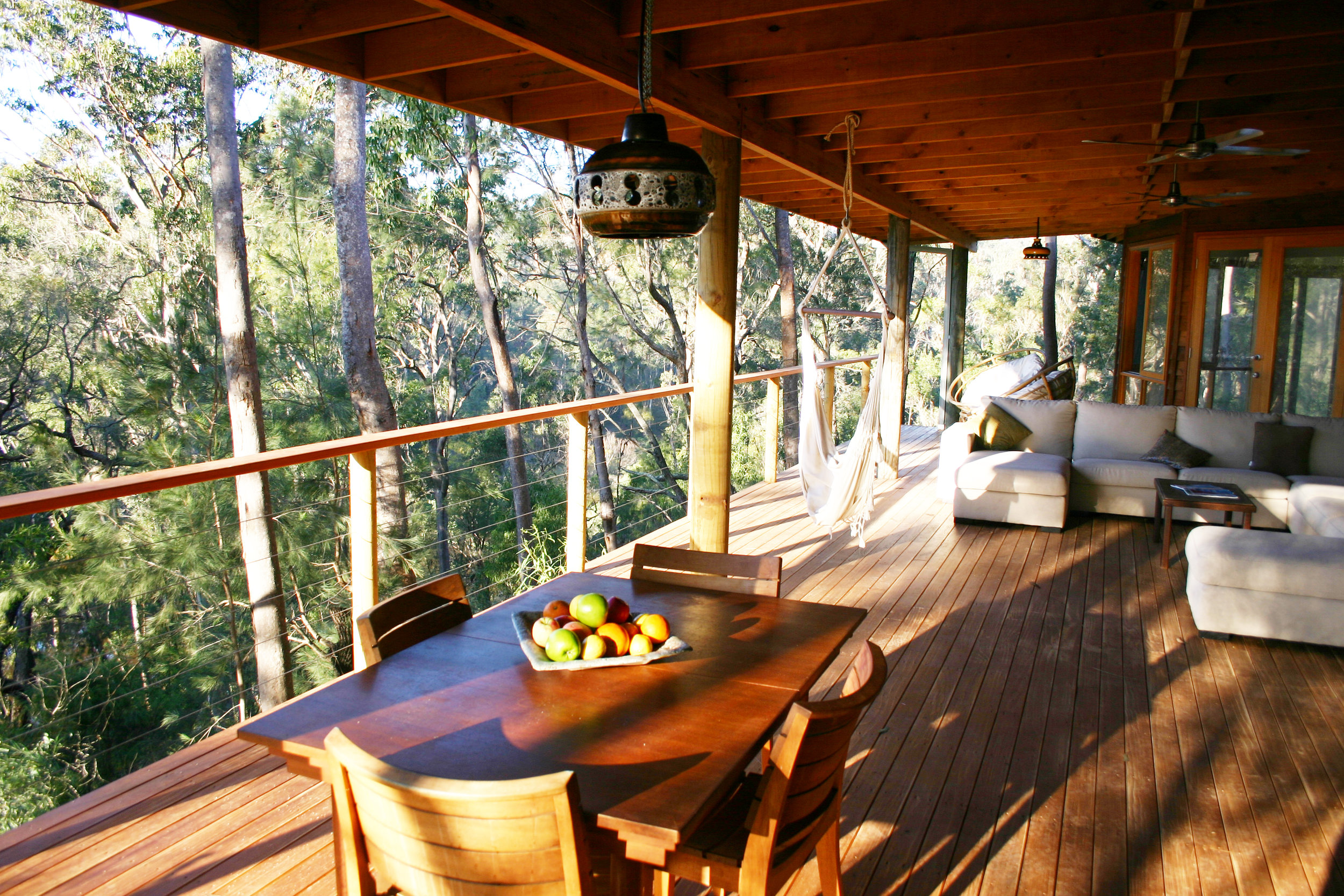 Image supplied by  Billabong Retreat  - see those egg rattan chairs at the back? Well, they were the most comfy chair/bed I've ever sat on and that was literally my dedicated spot during my stay.