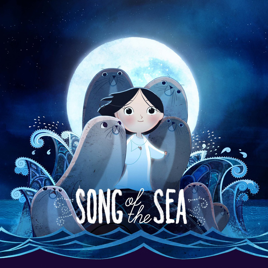Song of the Sea Background Design