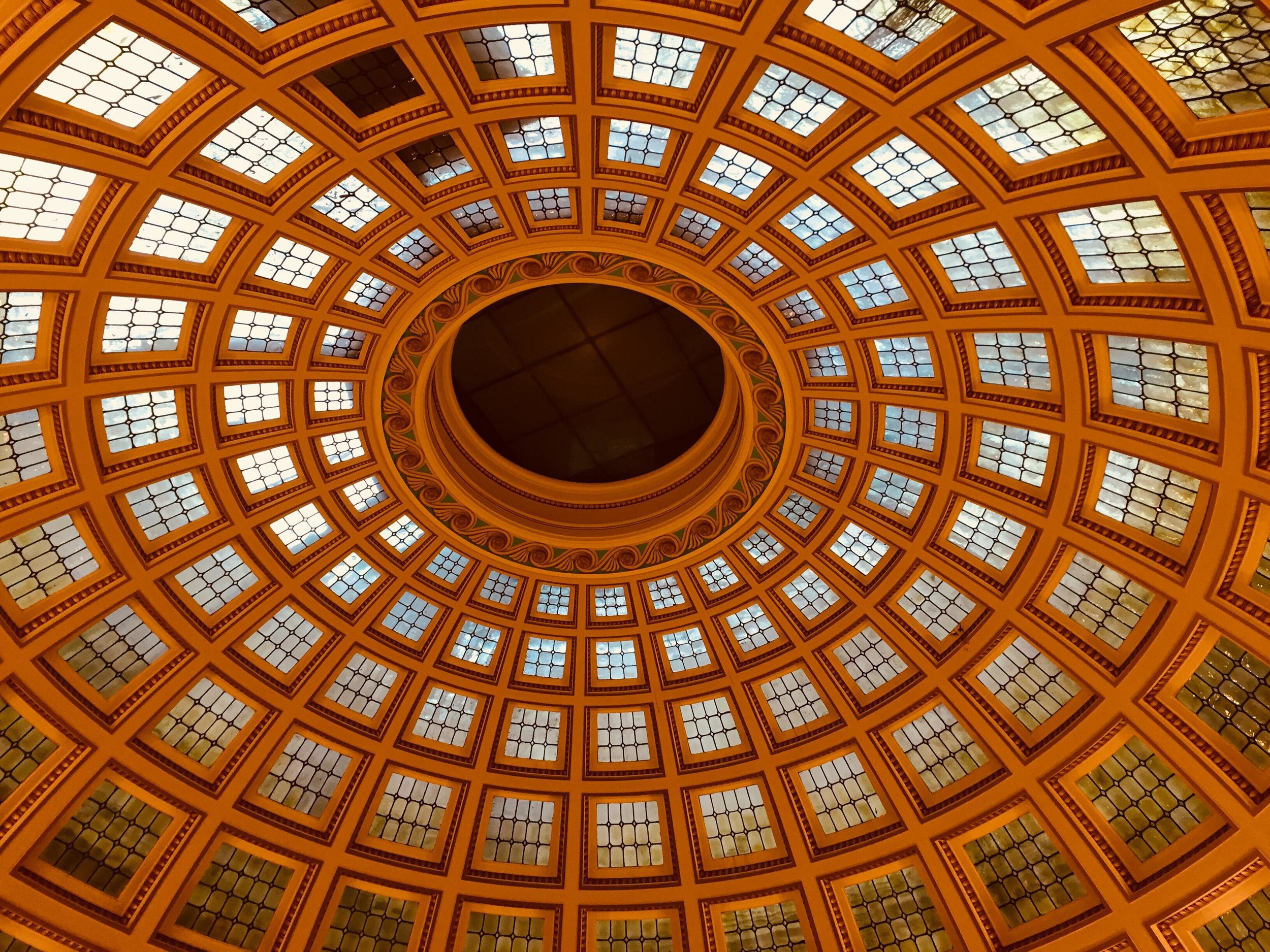 Inside Nottingham council house