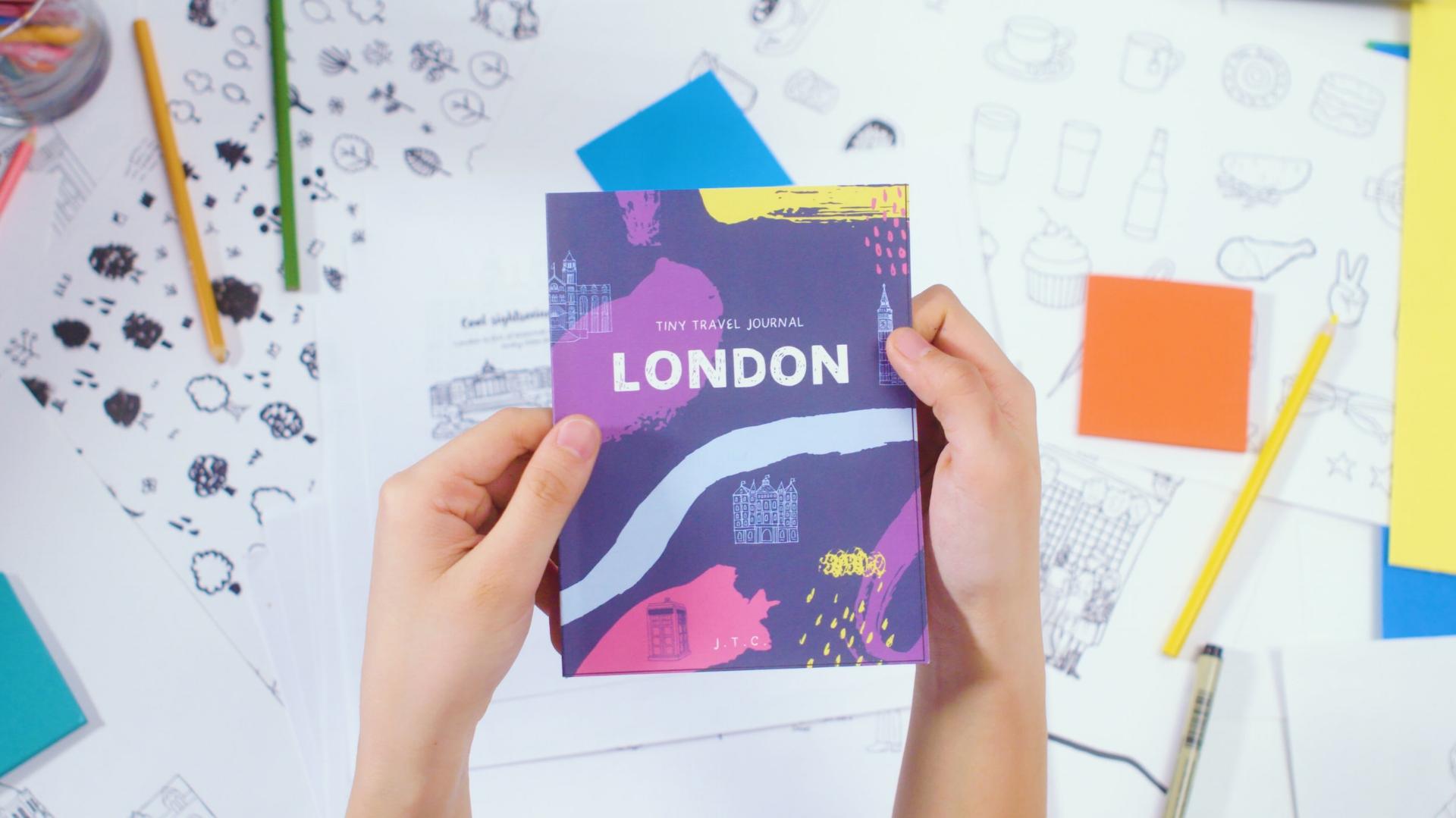 Tiny Travel Journal -