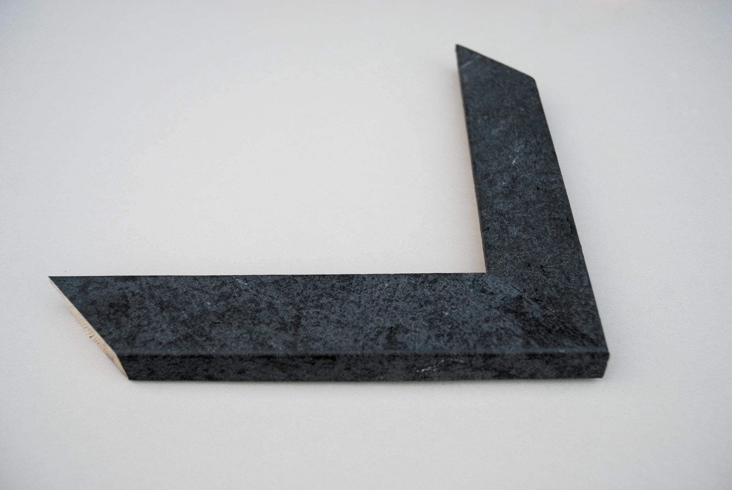 Real Slate Frame - Grey Slate