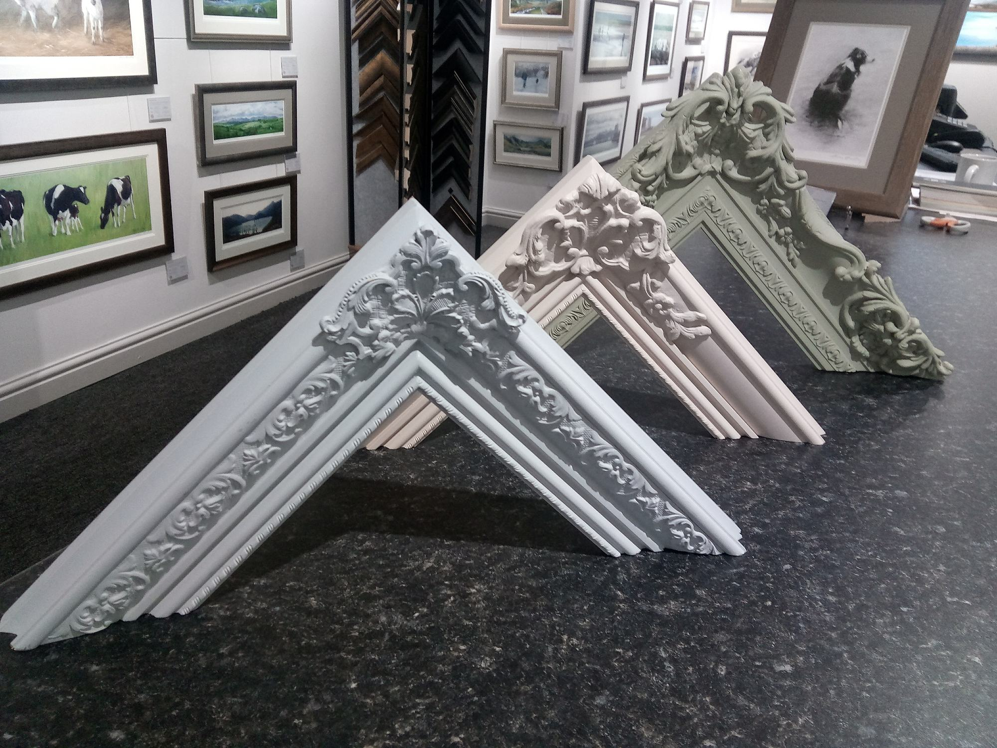 Bespoke picture frame mouldings
