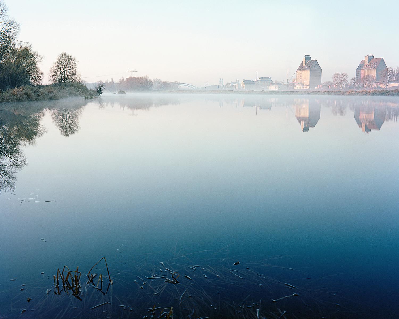 The blue Elbe