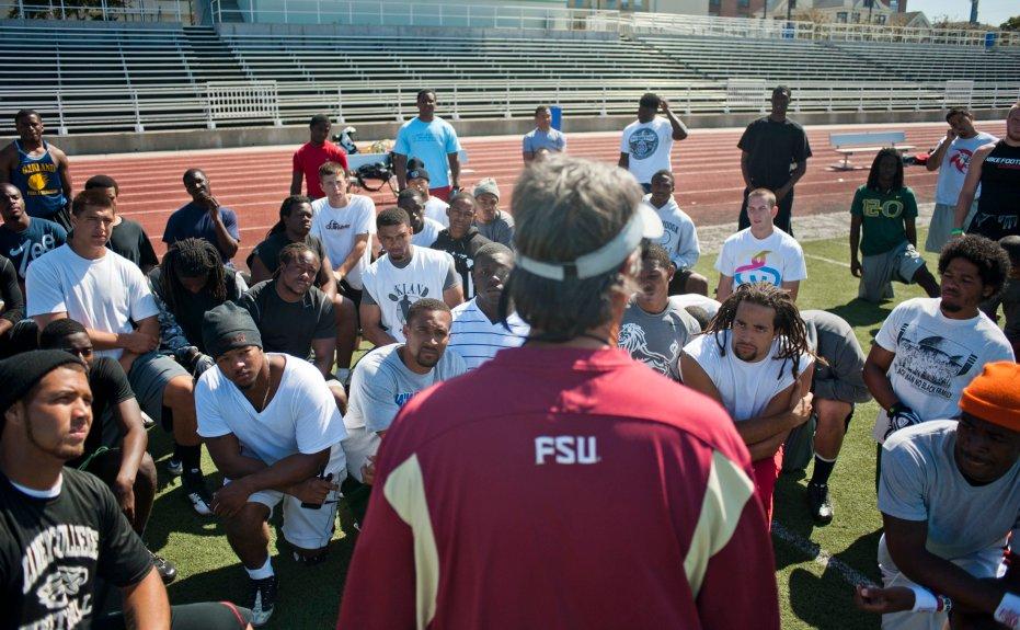 Oakland's Laney College, legendary coach chosen for 'Last Chance U' football series