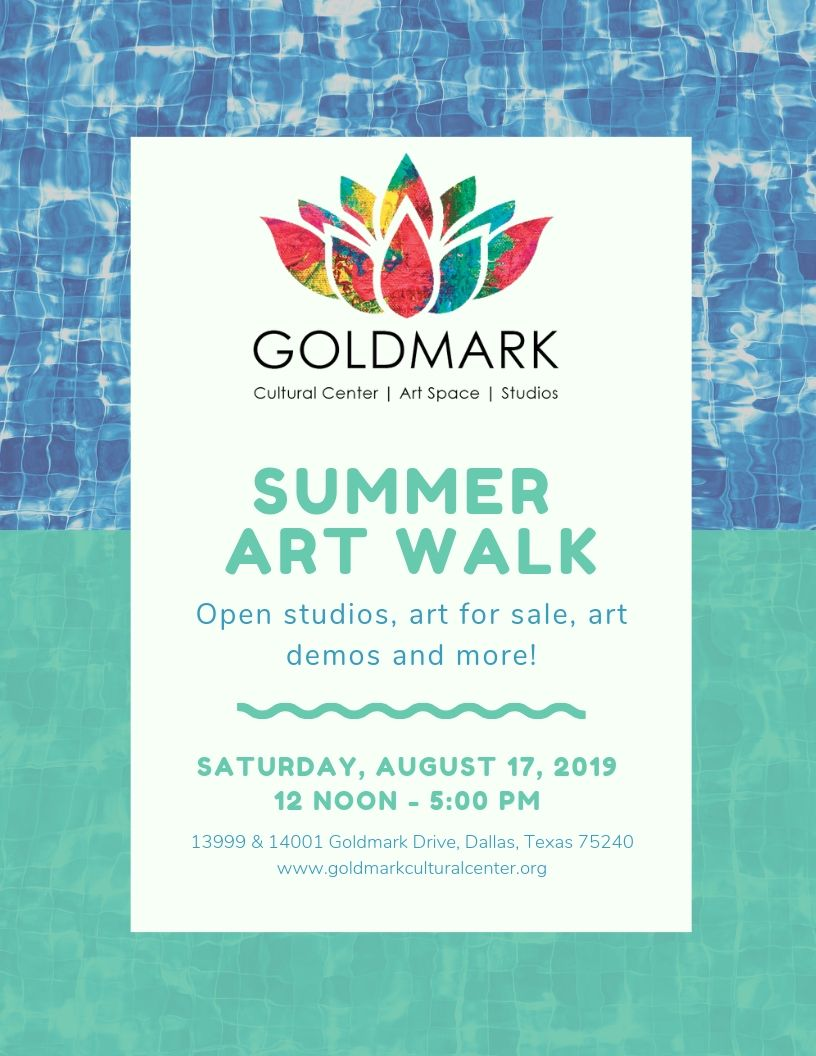 Goldmark August 2019 Art Walk Flyer.jpg