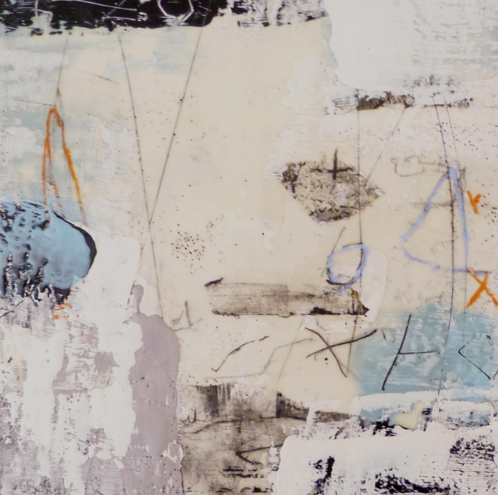%22 Marks and color%22 16 x 16 inch encaustic on panel.JPG